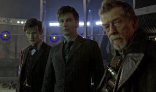 Drei Doktoren zur gleichen Zeit am gleichen Ort, das gab es seit Wiederbelebung der Serie noch nie bei «Doctor Who». (Foto)
