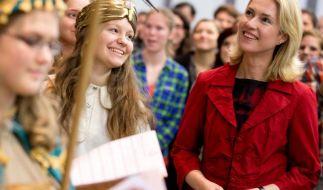 Mehr Zeit für Familie will Familienminsterin Manuela Schwesig Eltern ermöglichen. (Foto)