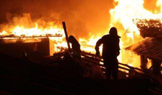 Verheerender Großbrand in tibetischer «Mondscheinstadt» Dukezong (Foto)