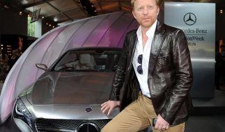 Boris Becker ist seinen Job als Werbeträger für Mercedes los. (Foto)