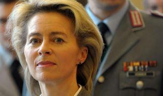 Von der Leyen will Bundeswehr familienfreundlicher machen (Foto)