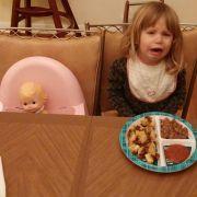 «Ich habe mich geweigert, für ihre Puppe einen Teller mit Essen fertig zu machen.»