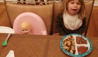 «Ich habe mich geweigert, für ihre Puppe einen Teller mit Essen fertig zu machen.» (Foto)