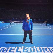 Zurück auf dem Centre Court: Boris Becker trägt jetzt wieder Sportklamotten.
