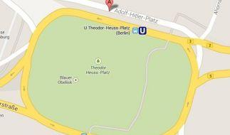 Google-Korrektor akzeptierte Adolf-Hitler-Platz in Berlin (Foto)