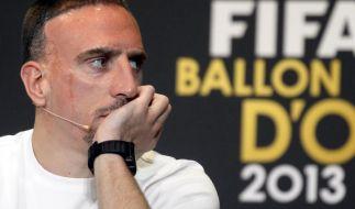 Franck Ribéry verpasste den Titel des Weltfußballers. (Foto)