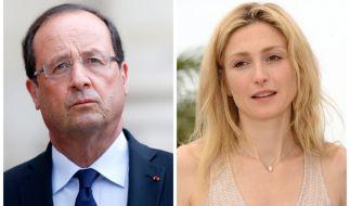 Mit der Schauspielerin Julie Gayet soll Präsident Hollande angeblich eine Affäre haben. (Foto)