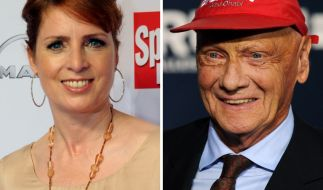 Monica Lierhaus und Niki Lauda haben sich nach schweren Schicksalsschlägen wieder zurück ins Leben gekämpft. (Foto)