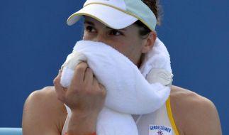 Deutsches Tennis-Debakel in der Hitze von Melbourne (Foto)