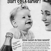 ... wie für's Cola trinken. Zumindest, wenn es nach den Wünschen der Industrie geht.