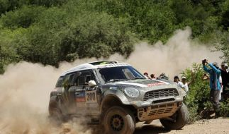 Rallye Dakar: Vierfach-Erfolg für deutsches X-raid-Team (Foto)
