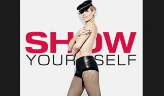 Sexy Werbung für «GNTM»: Heidi Klum. (Foto)