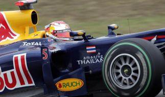 Vettel und die Startnummer 5: Erster Titel mit Red Bull (Foto)