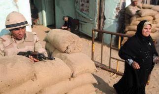 Verfassungsabstimmung in Ägypten endet (Foto)