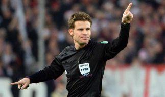 Referee Brych für WM in Brasilien nominiert (Foto)