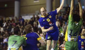 Schwede Jakobsson wirft Handball mit 113 km/h ins Tor (Foto)
