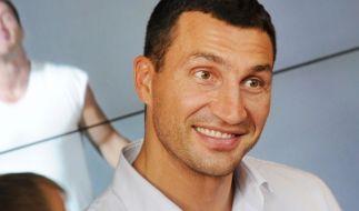 «Ich stehe immer zu mir und sage, was Sache ist»: Wladimir Klitschko. (Foto)