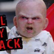 Bei diesem Baby kann einem wirklich Angst und Bange werden.