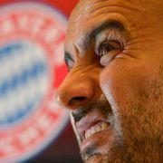 Was denn, nur Zweiter? Bayern-Coach Pep Guardiola kannte bislang nur den Platz an der Sonne.