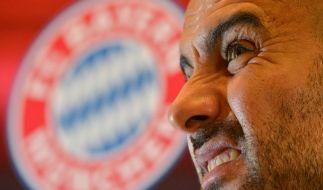 Was denn, nur Zweiter? Bayern-Coach Pep Guardiola kannte bislang nur den Platz an der Sonne. (Foto)
