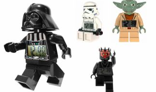 Ein Muss für Science-Fiction-Fans: Die coolen Lego-Star Wars Wecker. (Foto)