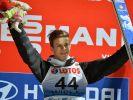 Wellinger am Ziel: Erster Weltcupsieg der Karriere (Foto)