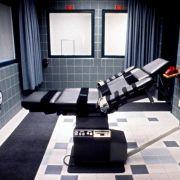 Auf solchen Todesstühlen bekommen Verurteilte in US-Gefängnissen die Giftspritze verabreicht.