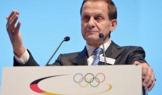 Hörmann: Mit Olympia-Bewerbung «erstmal durch» (Foto)