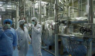 IAEA-Team prüft Umsetzung des Atomabkommens in Teheran (Foto)