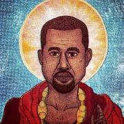 Kanye West als Erlöser.
