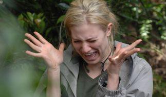 Der Hingucker im «Dschungelcamp»: Larissa Marolt. (Foto)
