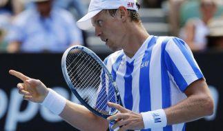 Titelverteidiger Tschechien mit Berdych im Davis Cup (Foto)