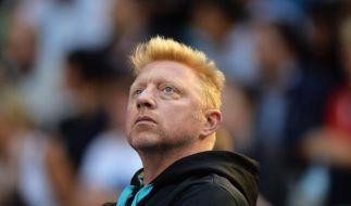 Boris Becker verfolgte die Niederlage seines Schützlings Novak Djokovic hautnah. (Foto)