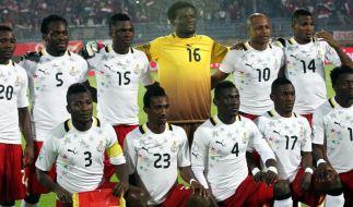 Ghanas WM-Hoffnungen ruhen auf Essien und Boateng (Foto)