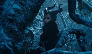 Erkennen Sie sie? Wer ist diese schöne düstere Fee in der neuen «Dornröschen»-Verfilmung? (Foto)