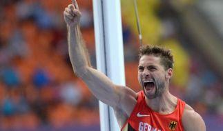 Otto feiert Sieg beim Springermeeting in Cottbus (Foto)