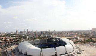 Brasilien: Sieben von zwölf WM-Stadien sind fertig (Foto)