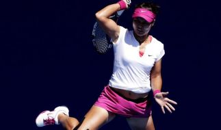 Li Na gegen Cibulkova im Finale von Melbourne (Foto)