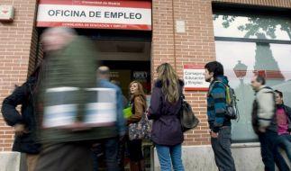 Weniger Arbeitslose inSpanien (Foto)