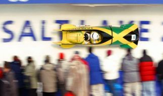 Der Zweier-Bob aus Jamaika war zuletzt bei den Winterspielen 2002 in Salt Lake City am Start. (Foto)