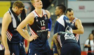 Heimpleite für Bayern-Basketballer in Euroleague (Foto)