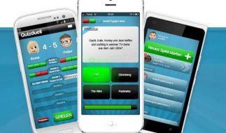 Das «Quizduell» reißt iPhone- und iPad-Nutzer in seinen Bann. (Foto)