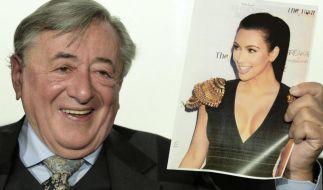 Richard Lugner bittet Kim Kardashian zum Opernball. (Foto)