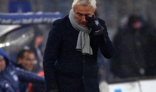 Abstiegsstimmung beim HSV - Van Marwijk gefordert (Foto)