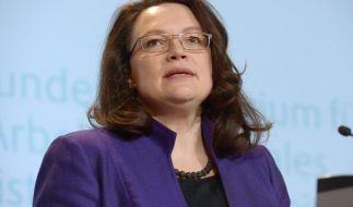 Nahles will Frühverrentungswelle bei Rente ab 63 verhindern (Foto)