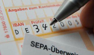 Ab dem 1. Januar 2014 gilt das SEPA-Zahlungsystem in EU-Ländern. (Foto)