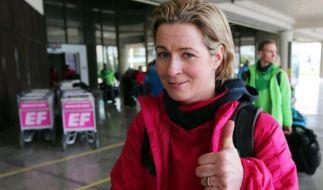 Deutsche Athleten in Sotschi - Optimismus bei Pechstein (Foto)