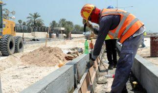 FIFA fordert Bericht zu Arbeitsbedingungen in Katar an (Foto)