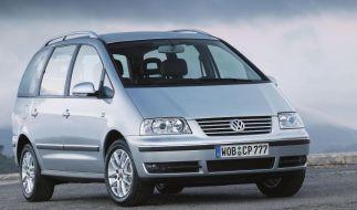 Gut auf mittelprächtigem Niveau: Der VW Sharan (Foto)