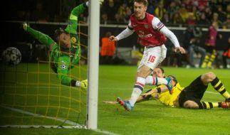 Arsenals Ramsey fällt sechs Wochen aus (Foto)